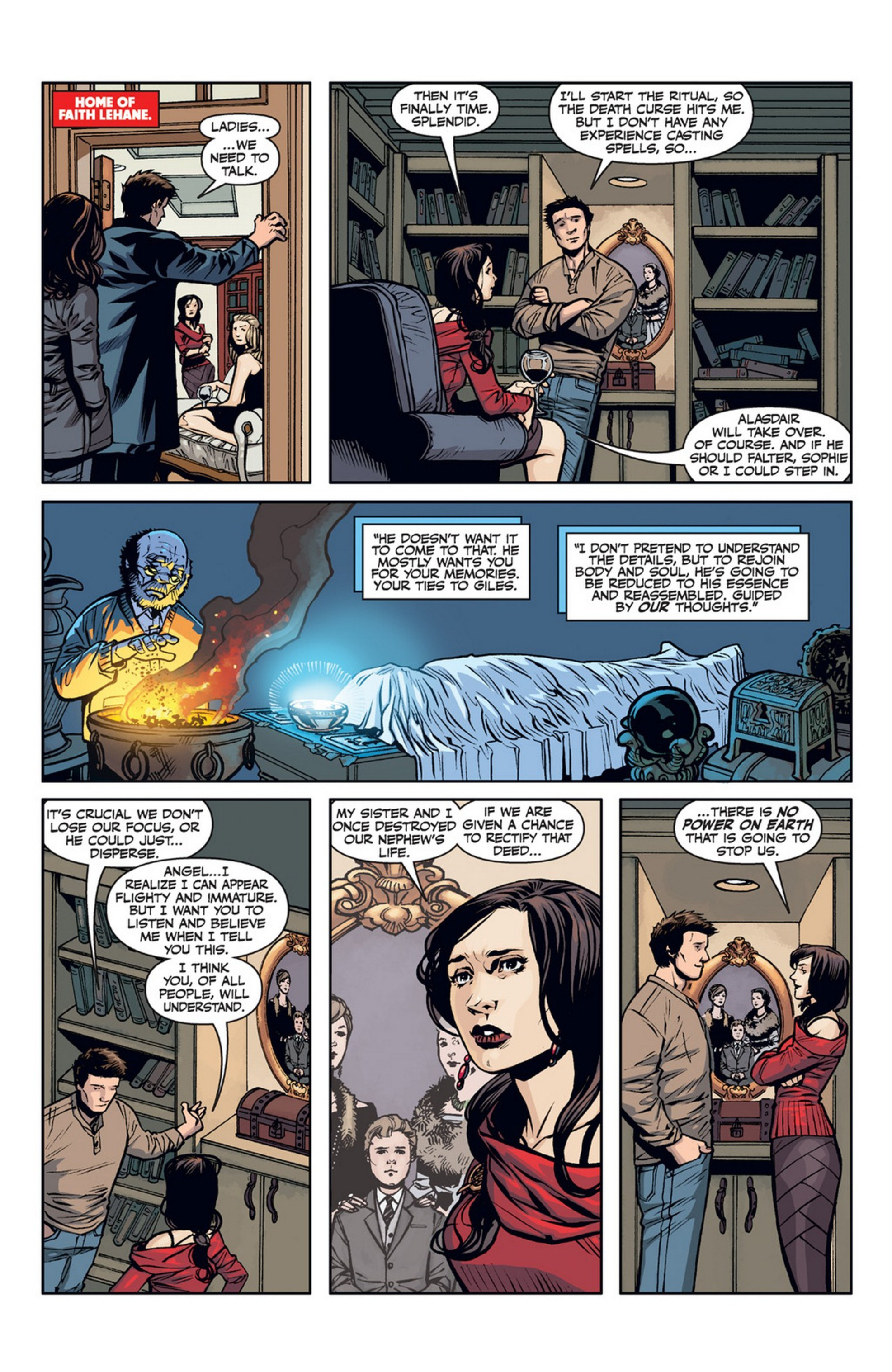 Read online Angel and Faith comic -  Issue #21 - 14