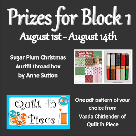 I Wish You a Merry Quilt Along - Block 1 Prizes