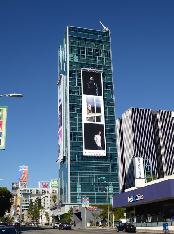 Giant Shot on iPhone 6s billboard Hollywood