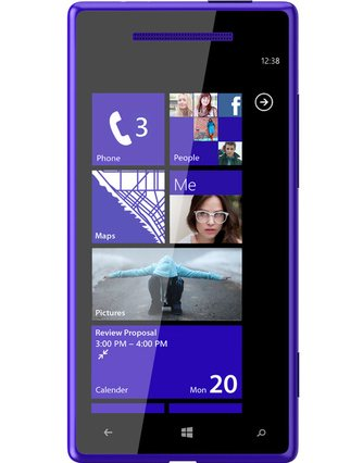 Svelato il nuovo smartphone windows phone 8 di HTC