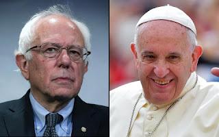 Pope Francis & Bernie Sanders