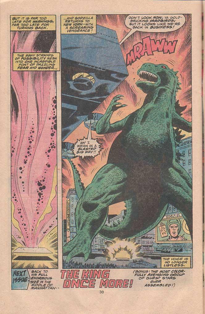 Godzilla (1977) Issue #22 #22 - English 17