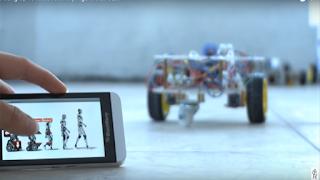 Robot điều khiển bằng module bluetooth HC06