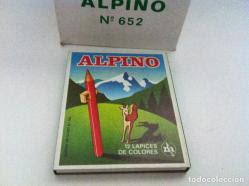 Los lápices Alpino