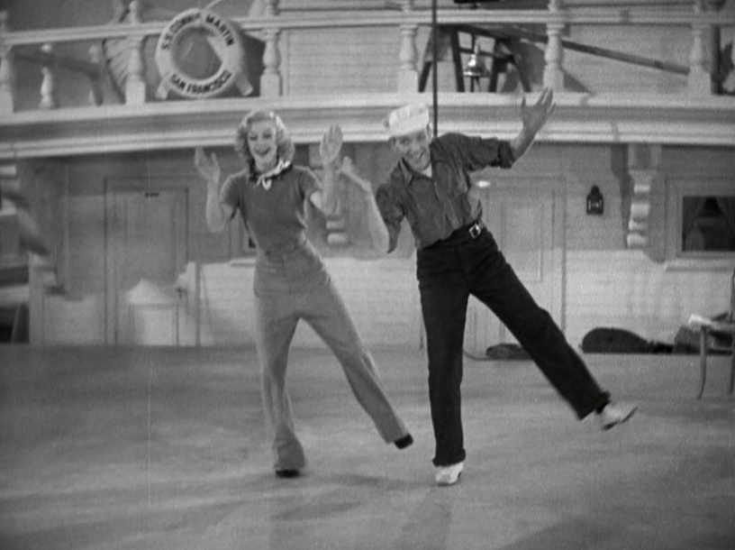 Astaire And Rogers Let Themselves Go In Follow The