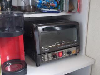 象印 ET-RU25 オーブントースターの不具合