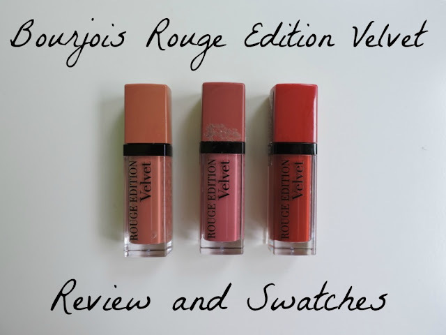 Bourjois Rouge Edition Velvet Review & Swatches