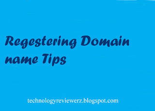 Registering Domain Name Tips