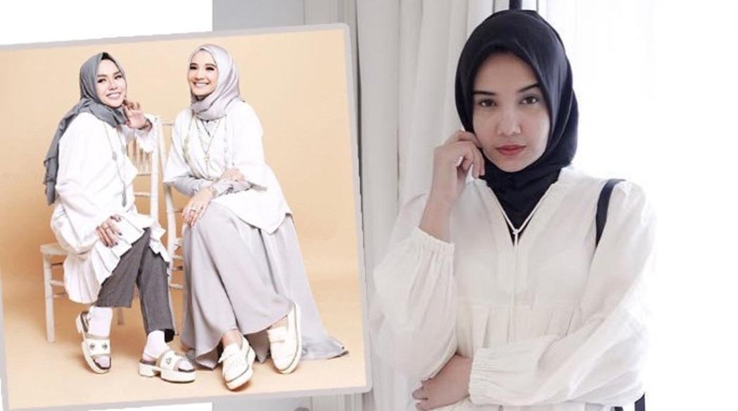 8 Tutorial Hijab Ala Zaskia Sungkar Ternyata Masih Populer Style Monokrom Girls Lihat Modisnya