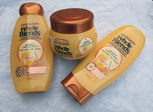Garnier Whole Blends Honey Treasures ~ #Review