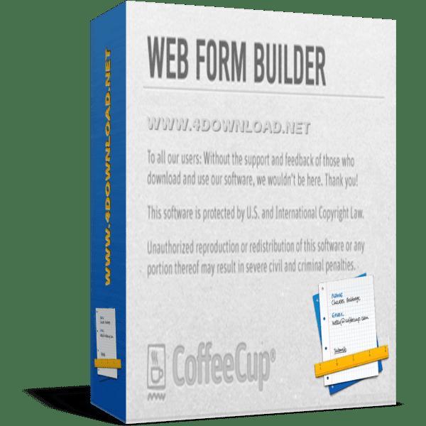 Download CoffeeCup - Web Form Builder v2.9 Build 5525 Full version