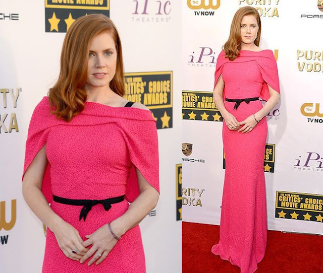 Amy Adams in Roland Mouret – 2014 Critics' Choice Movie Awards