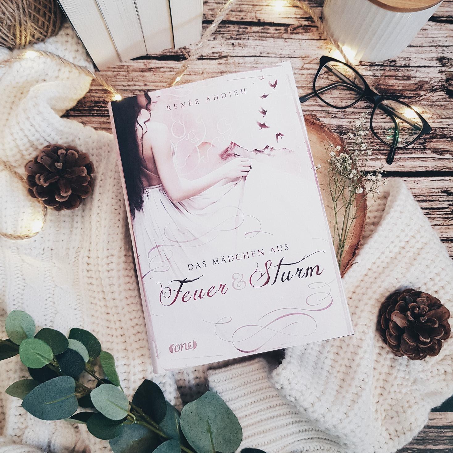 Bücherblog. Rezension. Buchcover. Das Mädchen aus Feuer und Sturm (Bd.1) von Renée Ahdieh. Fantasy. Jugendbuch. one.