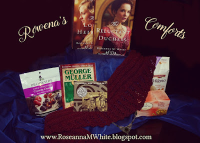 http://roseannamwhite.blogspot.com/p/rowenas-comforts-giveaway.html
