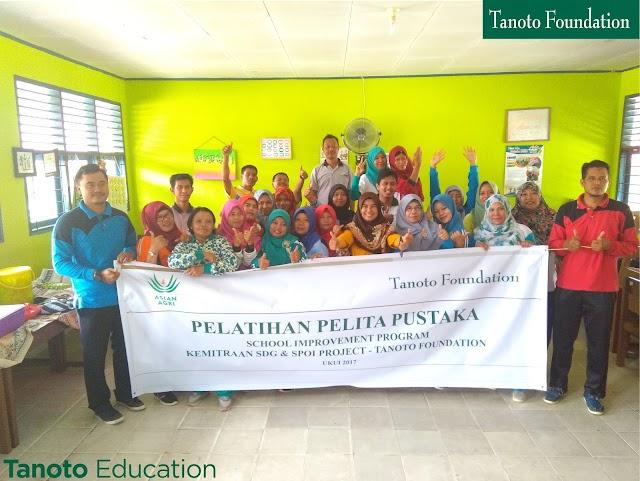 Optimalkan Peran Pustaka & Tingkatkan Minat Baca Siswa, Project SPOI Tanoto Foundation Gelar Pelatihan Pelita Pustaka.