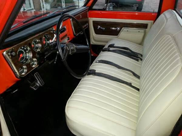 Chevrolet Cheyenne C Interior on classic c10 truck