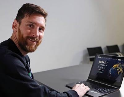 Leo Messi se suma al Blockchain con SirinLabs