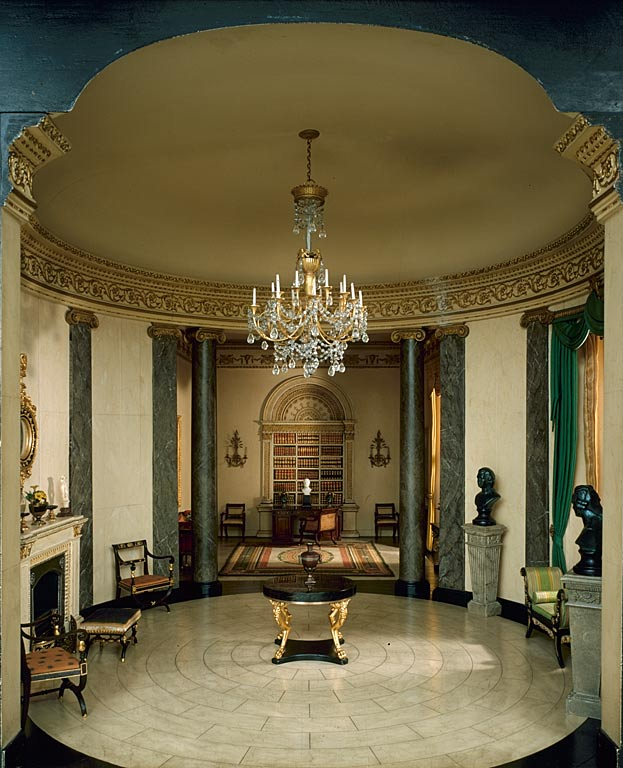 Dollhouse Miniatures Chicago: Dolls' Houses And Miniatures: The Thorne Room Collection