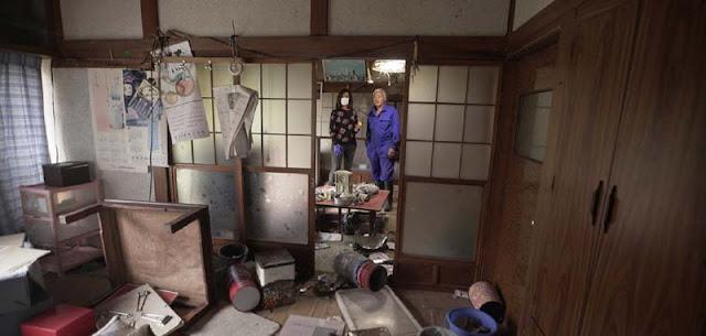 fukushima centro del desastre
