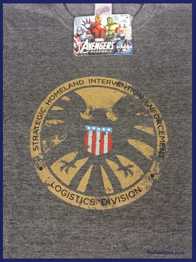 S.H.I.E.L.D. T-shirt from Qwerkixbox Unboxing in March 2015