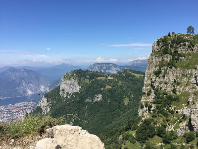 View toward Piani d'Erna, looking north from Trail #1.