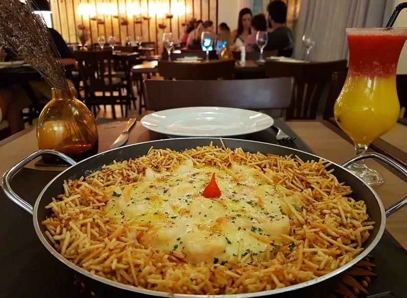 Melhor restaurante de frutos do mar em Maceió