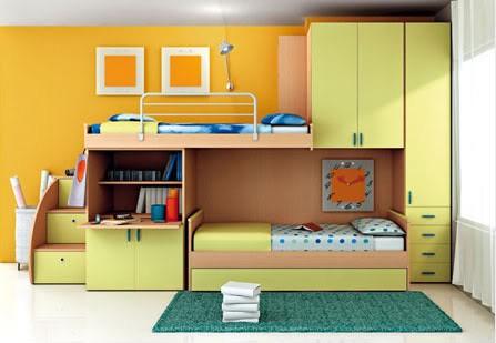 Colecci n de muebles para el dormitorio de ni os for Muebles de dormitorio infantil
