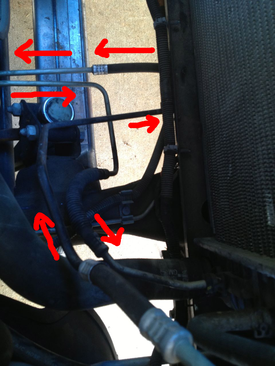 No Excuse For Thinking Transmission Line Fix N Flush On A