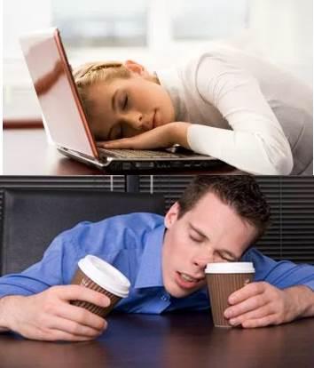 Dormir siesta después de comer o estudiar