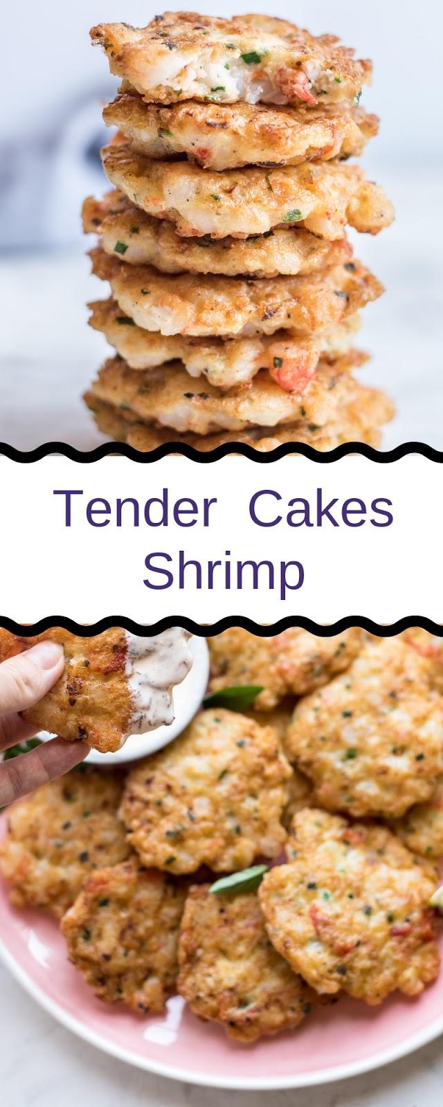 Tender  Cakes Shrimp