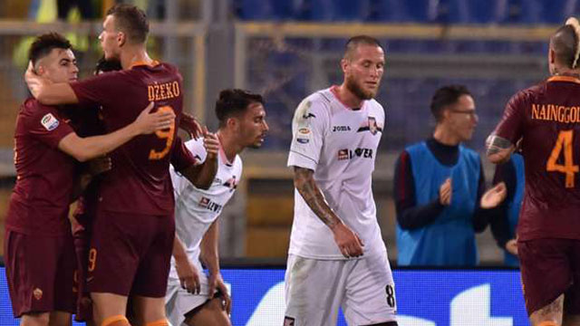[Video] Cuplikan Gol Roma 4-1 Palermo (Liga Italia)