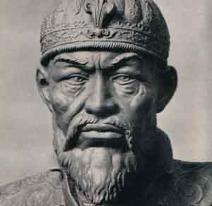 Forensic facial reconstruction of Timur by M. Gerasimov