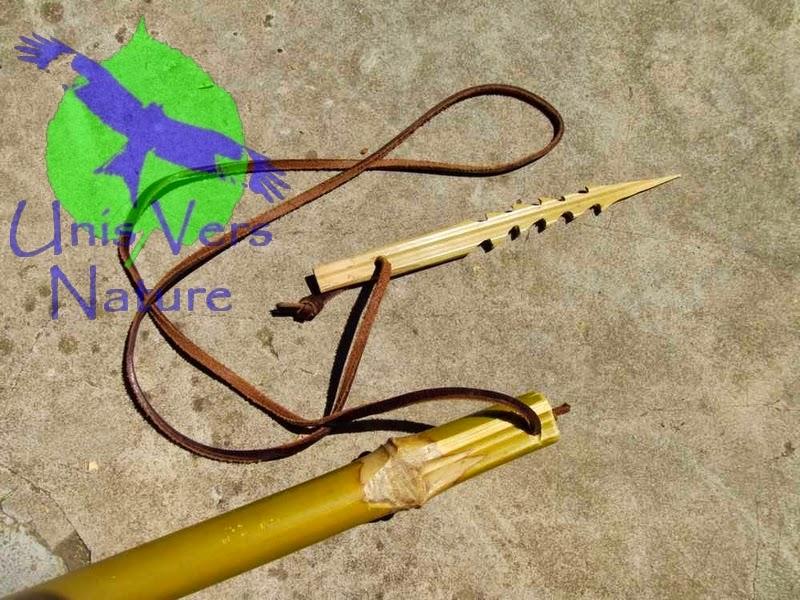 unis vers nature harpon en bambou avec pointe amovible. Black Bedroom Furniture Sets. Home Design Ideas