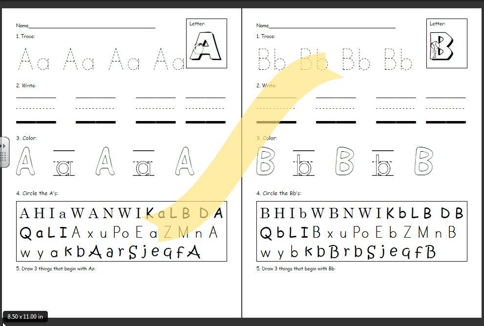 handwriting practice alphabet - Intoanysearch - practice alphabet writing