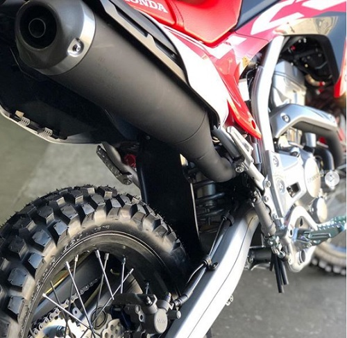 Design Belakang Honda CRF250 Rally
