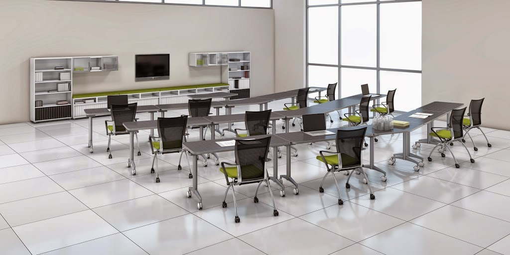 Office anything furniture blog training room 101 design for Training room design layout