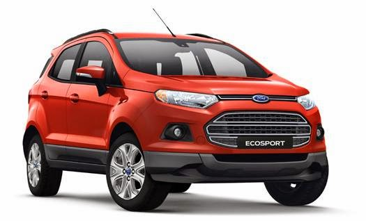 Harga Ford Ecosport Trend 1.5L AT : Rp. 223.400.000,00