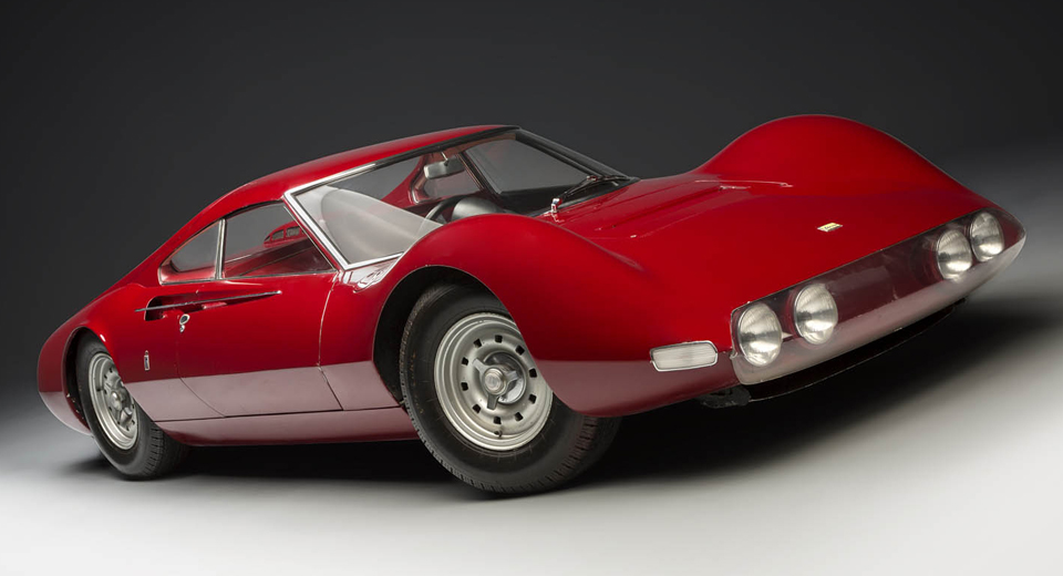100 Hot Cars Ferrari Concepts