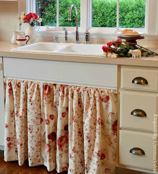 Easy To Open Sink Skirt
