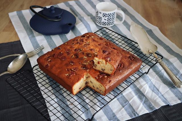Gâteau pécan sirop érable
