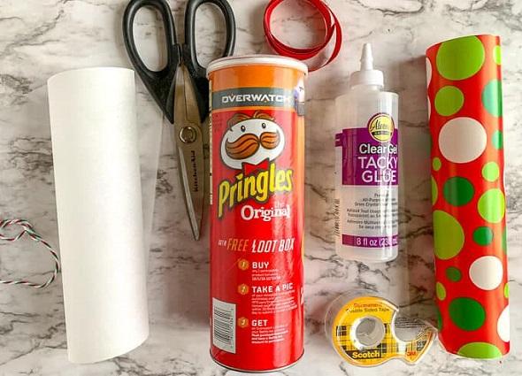 pringles,manualidades, reciclar,tutoriales