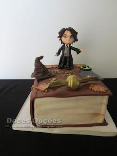 Bolo de aniversário Harry Potter bragança