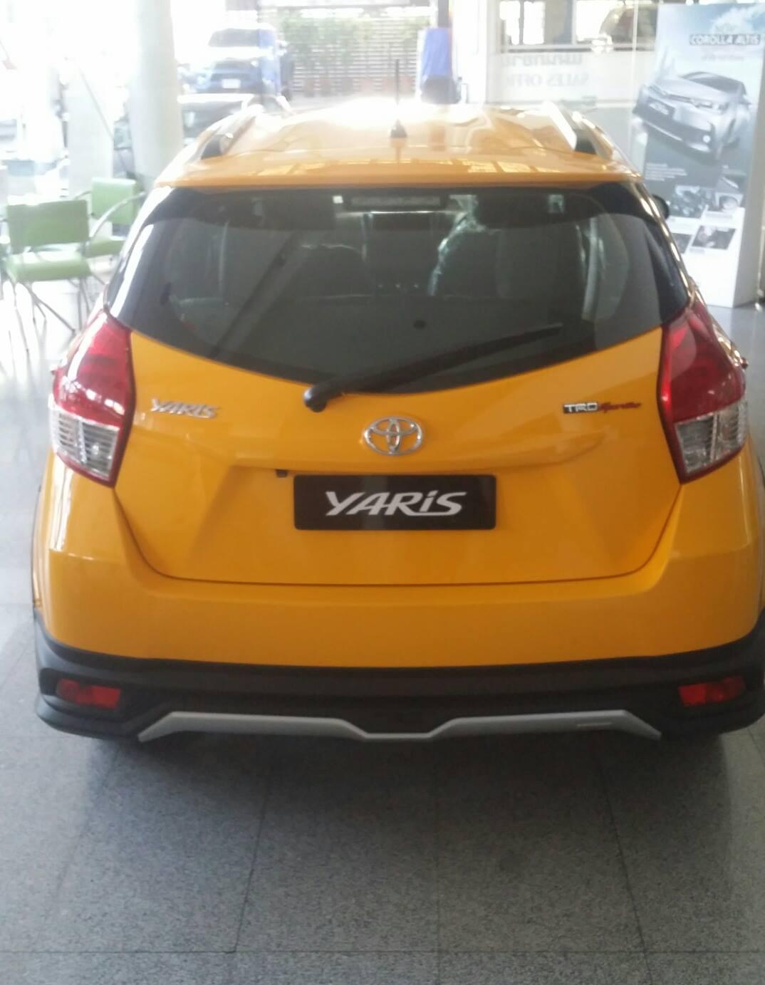 Toyota Yaris Trd Sportivo Olx Spesifikasi Oli Grand New Avanza ออกรถใหม Toyotaโตโยตาปายแดงทกรน วออส ยารส อลตส