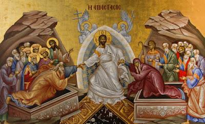 Η απεικόνιση της Ανάστασης στην ανατολική και δυτική εικόνα (Μελέτη)