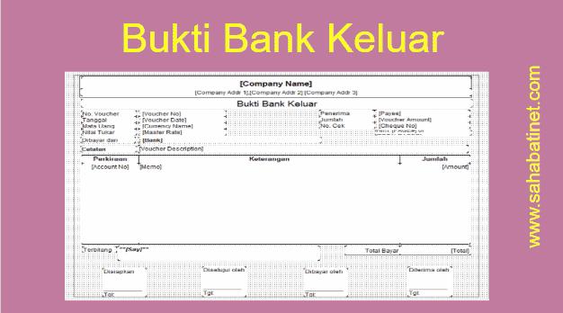 Membuat Formulir Bukti Bank Keluar di Accurate