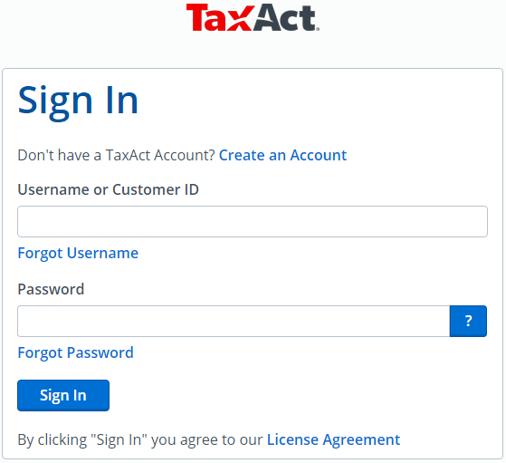 Tax Act Online Phone Number