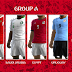 PES 2013 Russia World Cup 2018 Kitpack Group A By Puma26