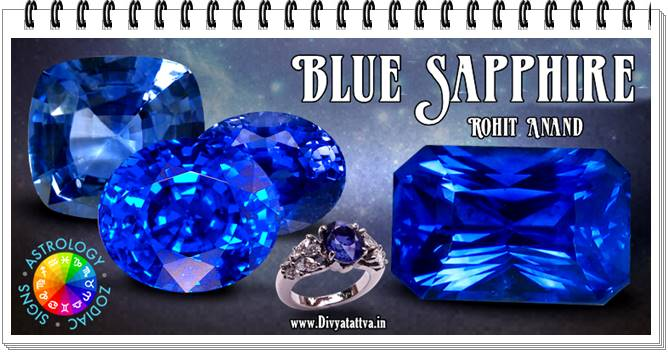 Blue Sapphire Gem Stone Neelam Uses Benefits Prices Wearing Method Mantra of नीलम रत्न By Rohit Anand New Delhi India