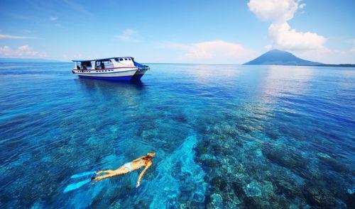 Pantai Paling Indah di Indonesia - Pantai Bunaken, Manado