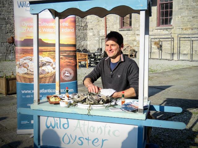 Glenn Hunter from Wild Atlantic Oysters in County Sligo, Ireland